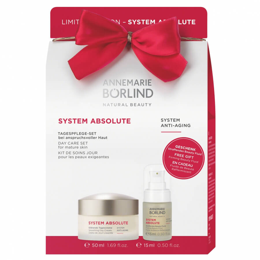 SYSTEM ABSOLUTE Anti-Aging Denní krém rich 50ml + Beauty fluid 15ml GRÁTIS