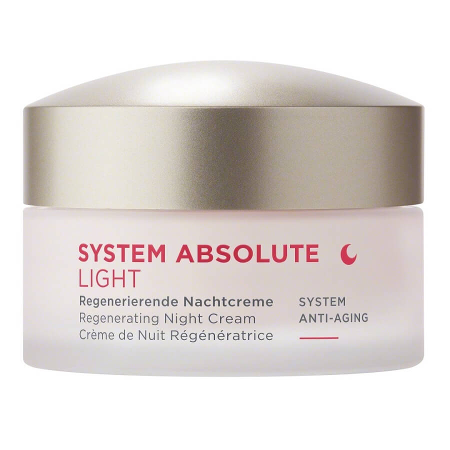 SYSTEM ABSOLUTE Anti-Aging Regenerační noční krém LIGHT 50ml
