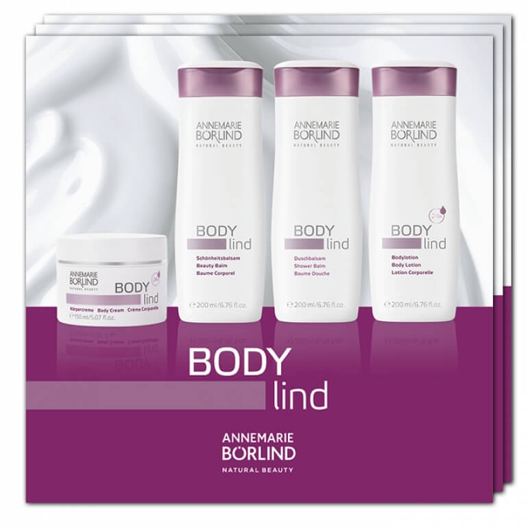 VZORKA BODY LIND línia 4x2ml