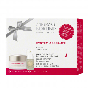Promo Pack System Absolute Nočný krém 50ml + Anti aging sérum 15ml